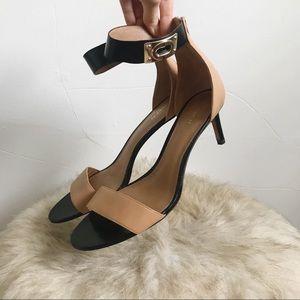 Coach Color block heels